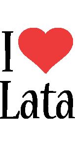 Lata i-love logo
