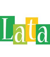 Lata lemonade logo