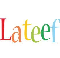Lateef birthday logo