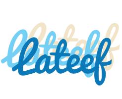 Lateef breeze logo