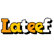 Lateef cartoon logo
