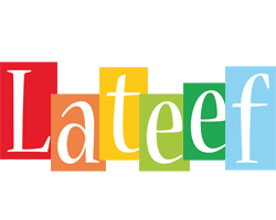 Lateef colors logo