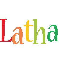 Latha birthday logo