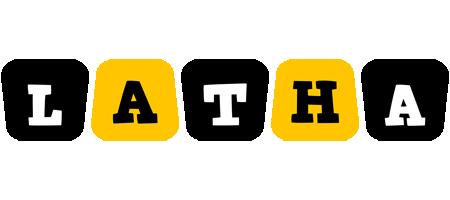 Latha boots logo