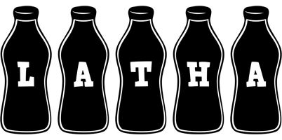 Latha bottle logo