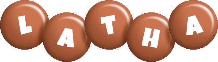 Latha candy-brown logo