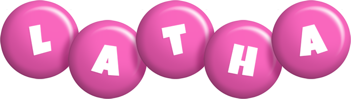 Latha candy-pink logo