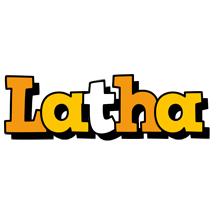 Latha cartoon logo