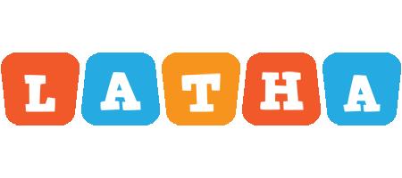 Latha comics logo