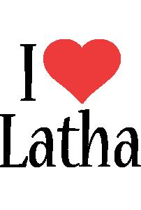 Latha i-love logo