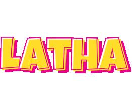 Latha kaboom logo