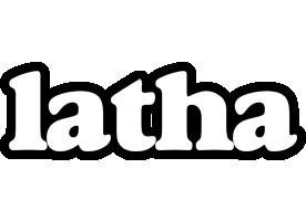 Latha panda logo