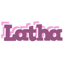 Latha relaxing logo