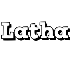 Latha snowing logo