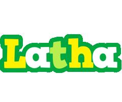 Latha soccer logo