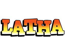 Latha sunset logo