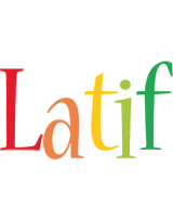 Latif birthday logo