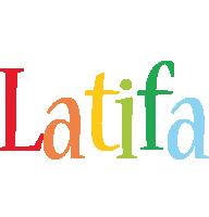 Latifa birthday logo