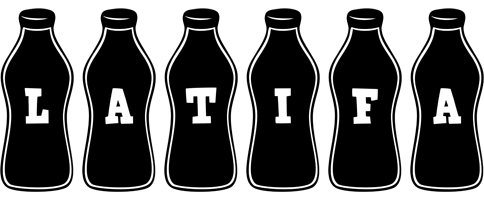 Latifa bottle logo