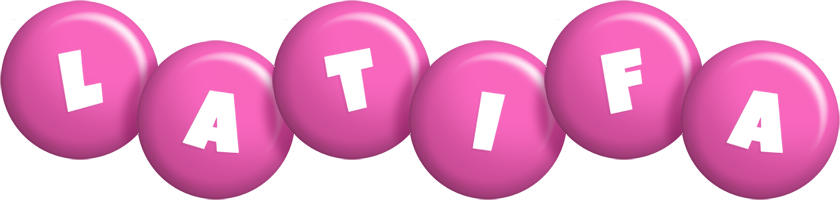 Latifa candy-pink logo