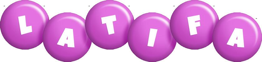 Latifa candy-purple logo