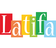 Latifa colors logo