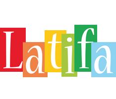Latifa colors logo