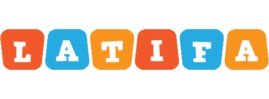 Latifa comics logo