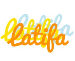 Latifa energy logo