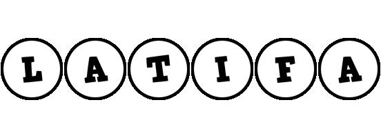 Latifa handy logo
