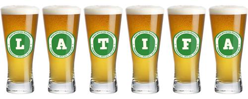 Latifa lager logo