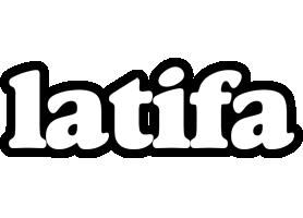 Latifa panda logo