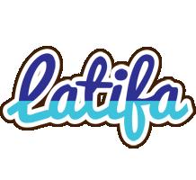 Latifa raining logo
