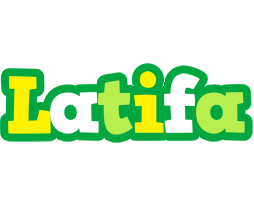 Latifa soccer logo