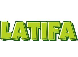 Latifa summer logo