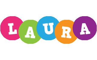 Laura friends logo