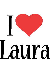 Laura i-love logo