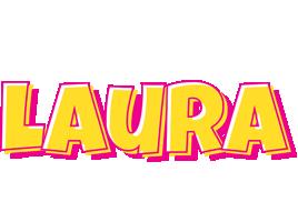 Laura kaboom logo