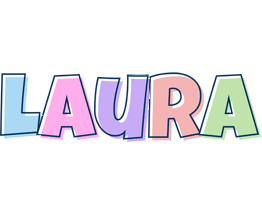 Laura Logo | Name Logo Generator - Candy, Pastel, Lager ...