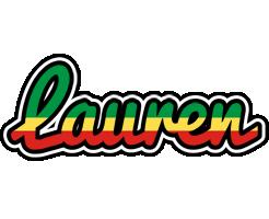 Lauren african logo