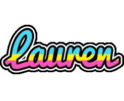 Lauren circus logo