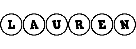 Lauren handy logo