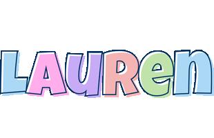 Lauren pastel logo