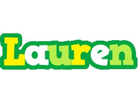 Lauren soccer logo