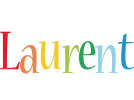 Laurent birthday logo