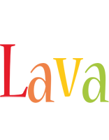 Lava birthday logo