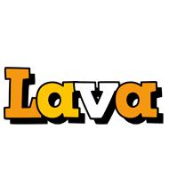 Lava cartoon logo