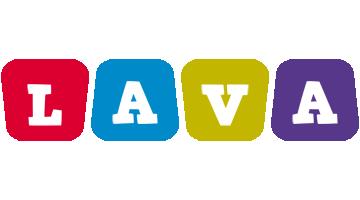 Lava daycare logo