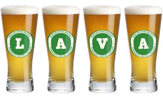 Lava lager logo