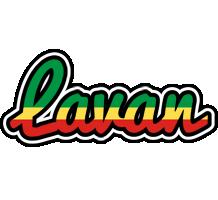 Lavan african logo
